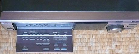 HR-S9800 操作部俯瞰