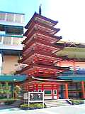 海老名の五重塔