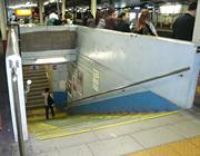 拝島駅地下通路