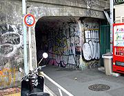 近所の怪しいトンネル