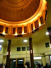 東京駅ドーム内部